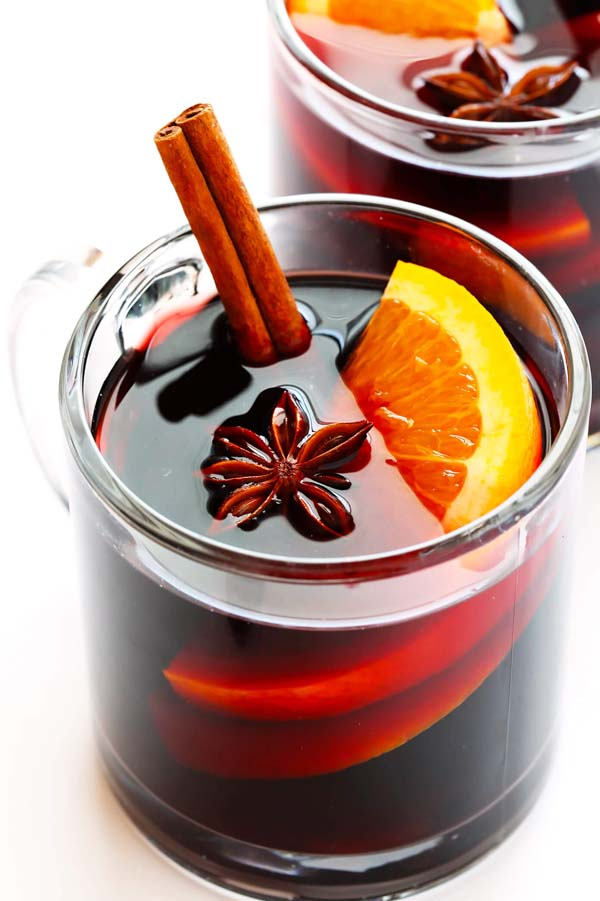 Mulled Wine #Christmas #recipes #dinner #trendypins