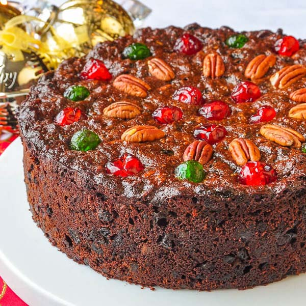 Old English Fruitcake #Christmas #recipes #dinner #trendypins
