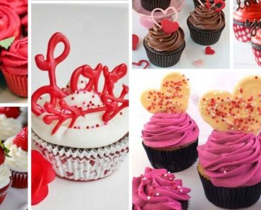 50 Valentines Day Cupcakes