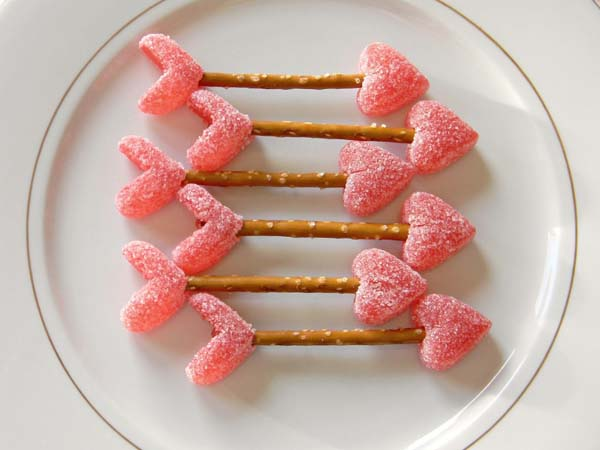 Cupid's Arrows #Valentine's Day #recipes #treats #trendypins