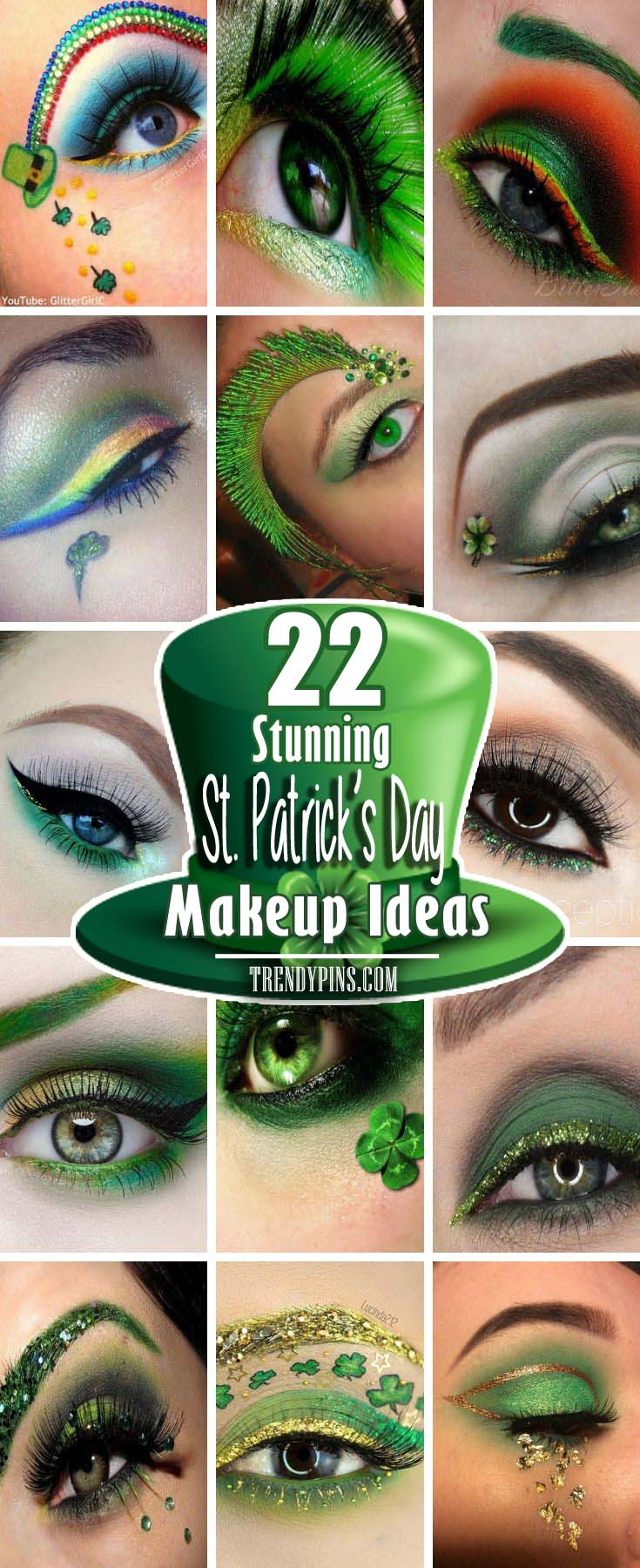 St Patrick S Day Makeup Ideas