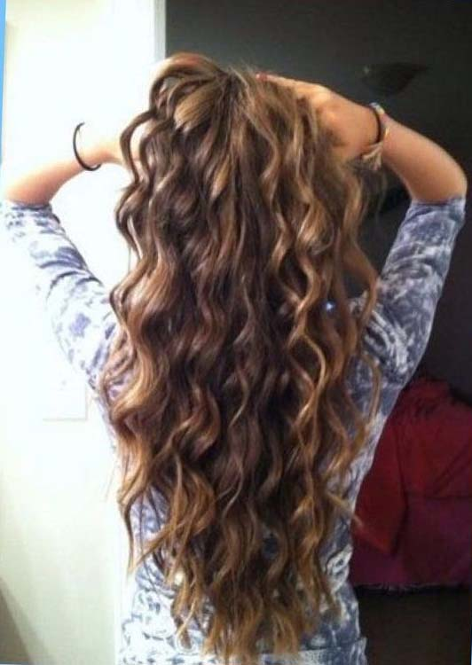 Body Wave Perm #hairstyles #perms #beauty #trendypins
