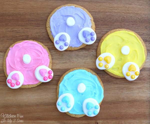 Bunny Butt Cookies #Easter #desserts #recipes #trendypins