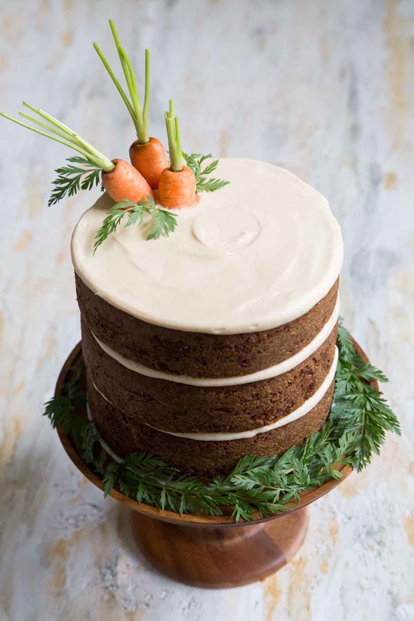 Carrot Cake #Easter #cakes #recipes #trendypins