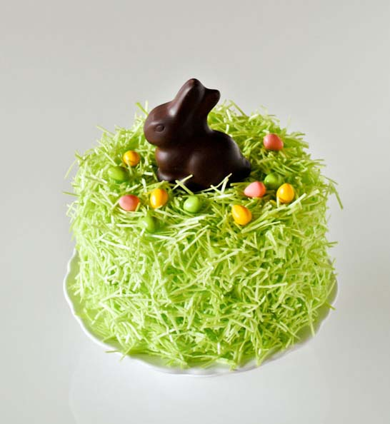 Chocolate Easter Bunny Cake #Easter #dinner #recipes #trendypins