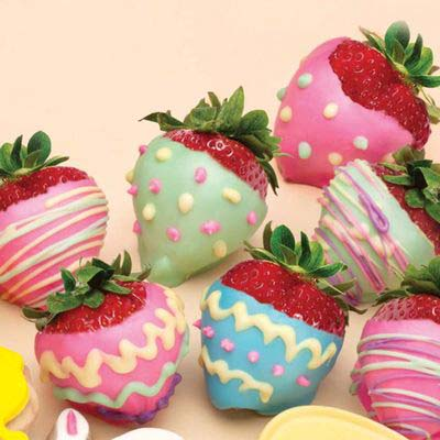 Easter Egg Strawberries #Easter #appetizers #recipes #trendypins