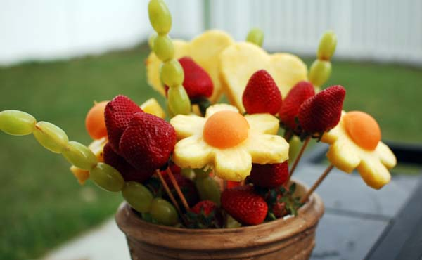 Fruit Bouquet #Easter #appetizers #recipes #trendypins