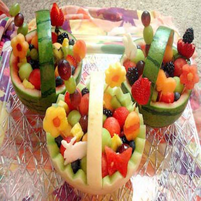 Fruit-Easter-Basket #Easter #appetizers #recipes #trendypins