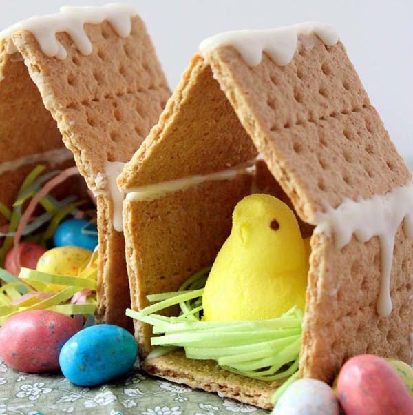 Peep Houses #Easter #treats #recipes #trendypins
