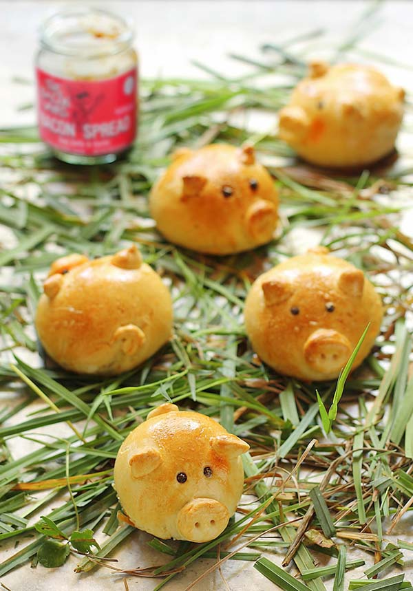 Pigs with Bacon Jam#Easter #appetizers #recipes #trendypins
