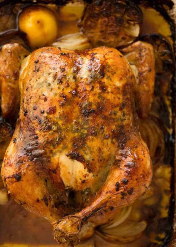 Roast Chicken #Easter #dinner #recipes #trendypins
