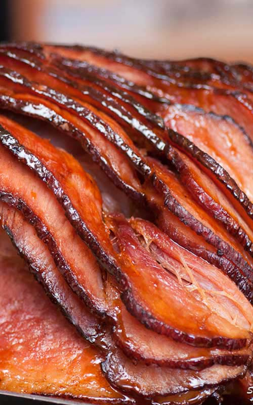 Southern Honey Glazed Ham #Easter #dinner #recipes #trendypins
