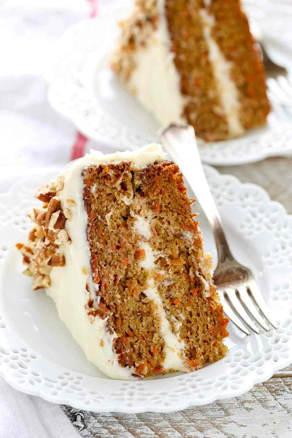 The BEST Carrot Cake #Easter #dinner #recipes #trendypins