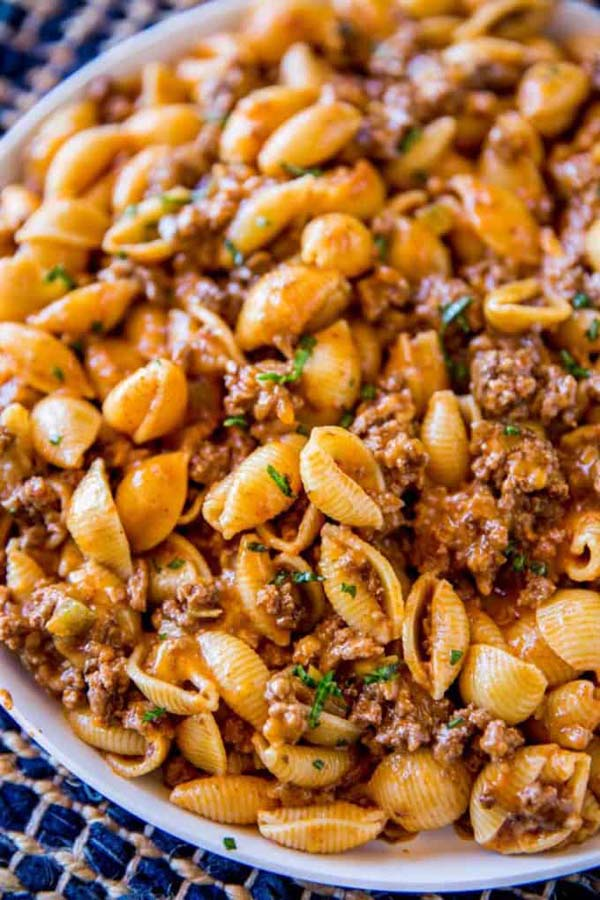 Cheesy Taco Pasta #meal #pantry #plan #trendypins