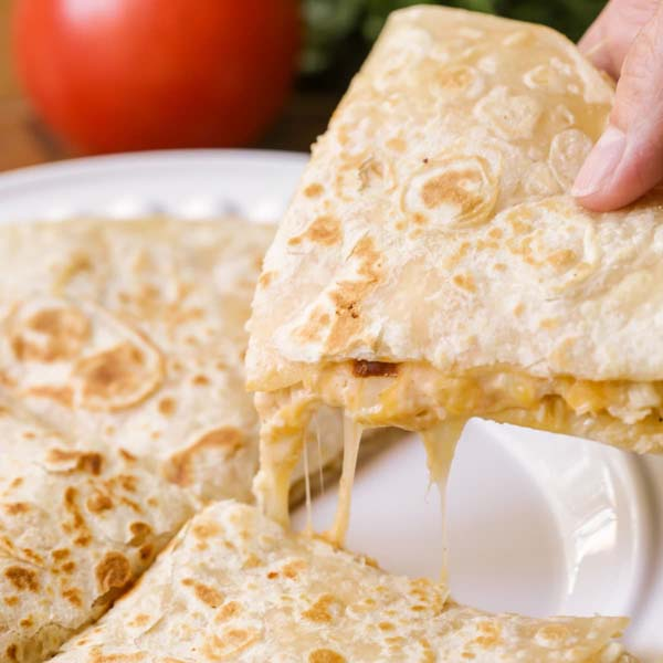 Chicken Quesadillas (for the freezer) #meal #freezer #recipes #trendypins