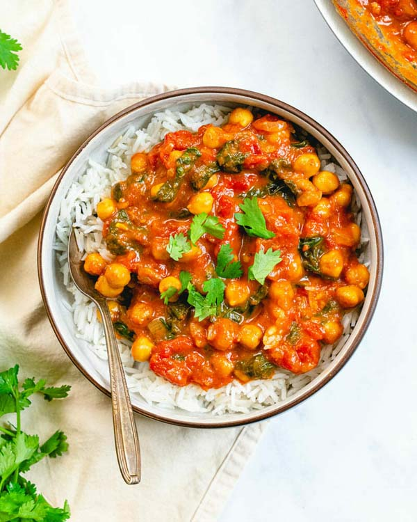Chickpea Curry #meal #pantry #plan #trendypins