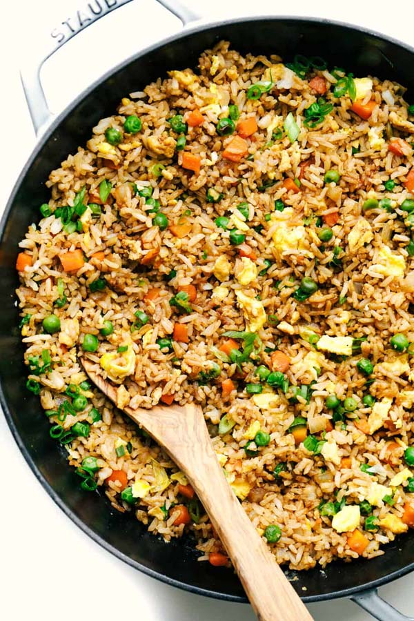 Easy Fried Rice #pantry #staple #recipes #trendypins