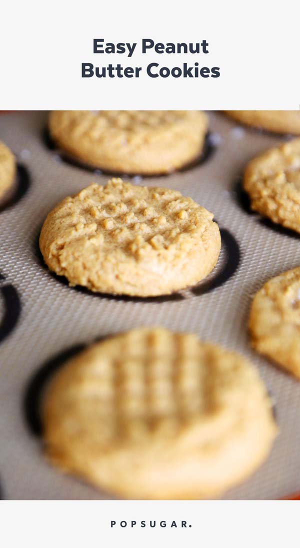 Easy Peanut Butter Cookies #pantry #staple #recipes #trendypins