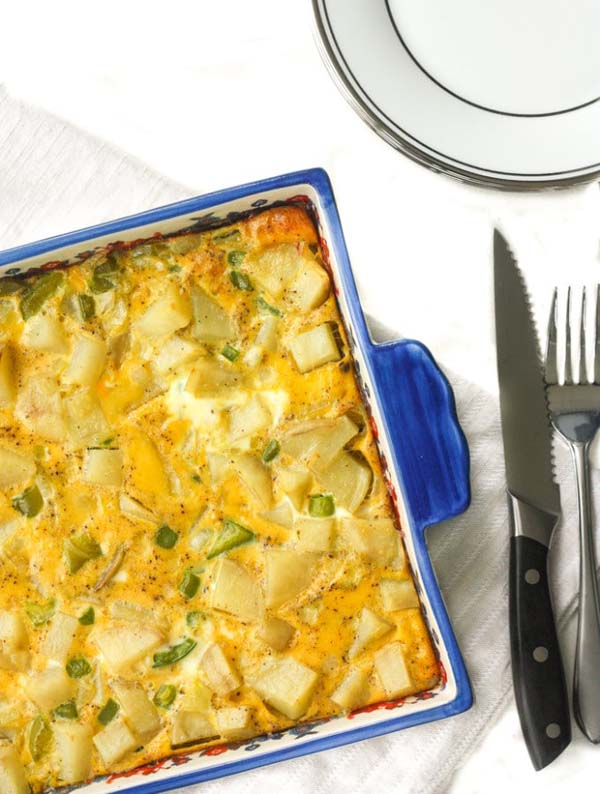 Egg and Potato Breakfast Casserole #pantry #staple #recipes #trendypins