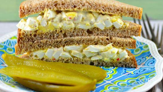 Egg Salad Sandwiches #pantry #staple #recipes #trendypins