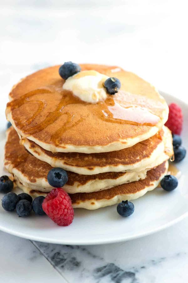 Fluffy Pancakes From Scratch #meal #pantry #plan #trendypins