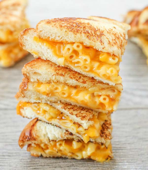 Grilled Mac and Cheese Sandwich #pantry #staple #recipes #trendypins