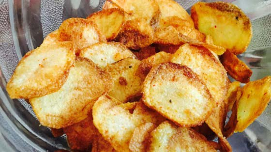 Homemade Potato Chips #pantry #staple #recipes #trendypins