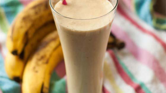 Peanut Butter Banana Smoothie #pantry #staple #recipes #trendypins