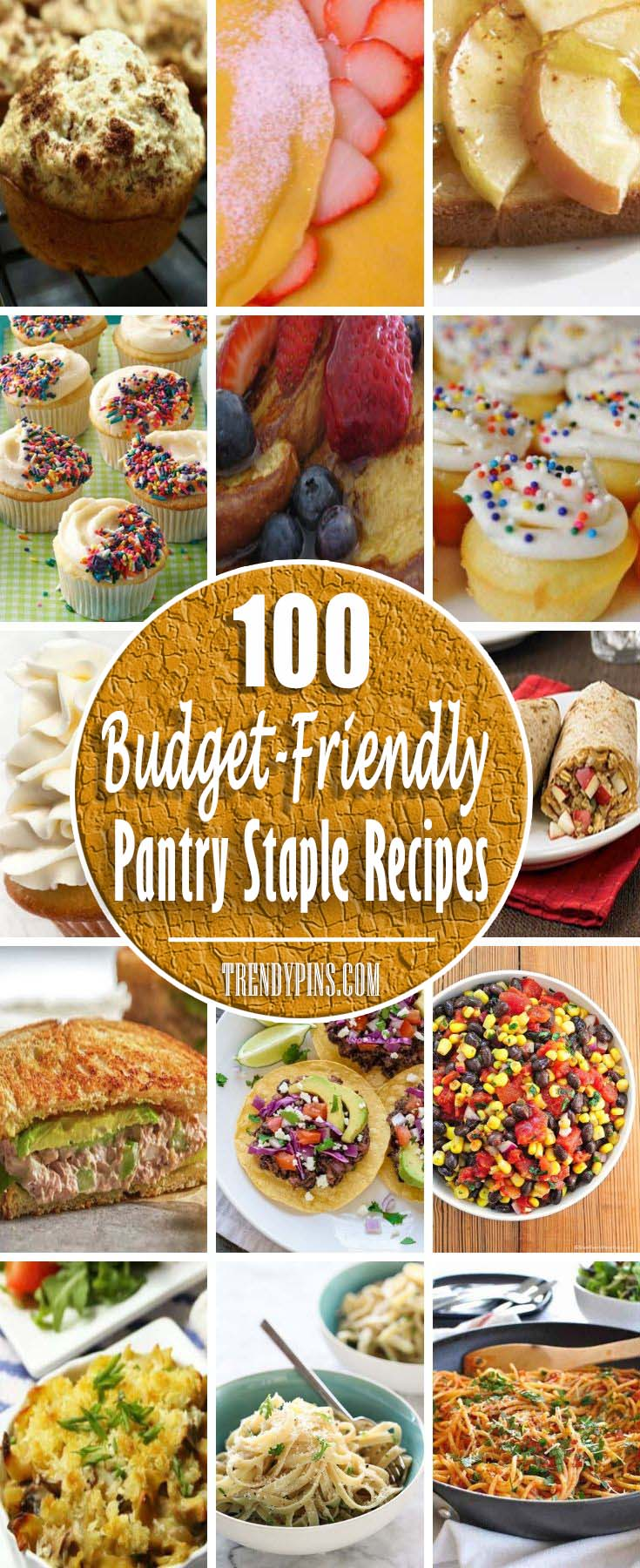Every housewife should have on hand some basic items at all times #pantry #staple #recipes #trendypins