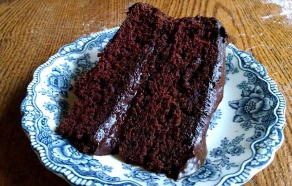 Depression Era Chocolate Cake #recipes #depression era #meals #trendypins