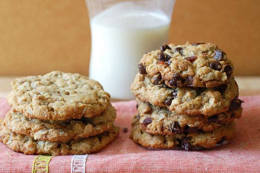 Depression Era Oatmeal Cookies #recipes #depression era #meals #trendypins