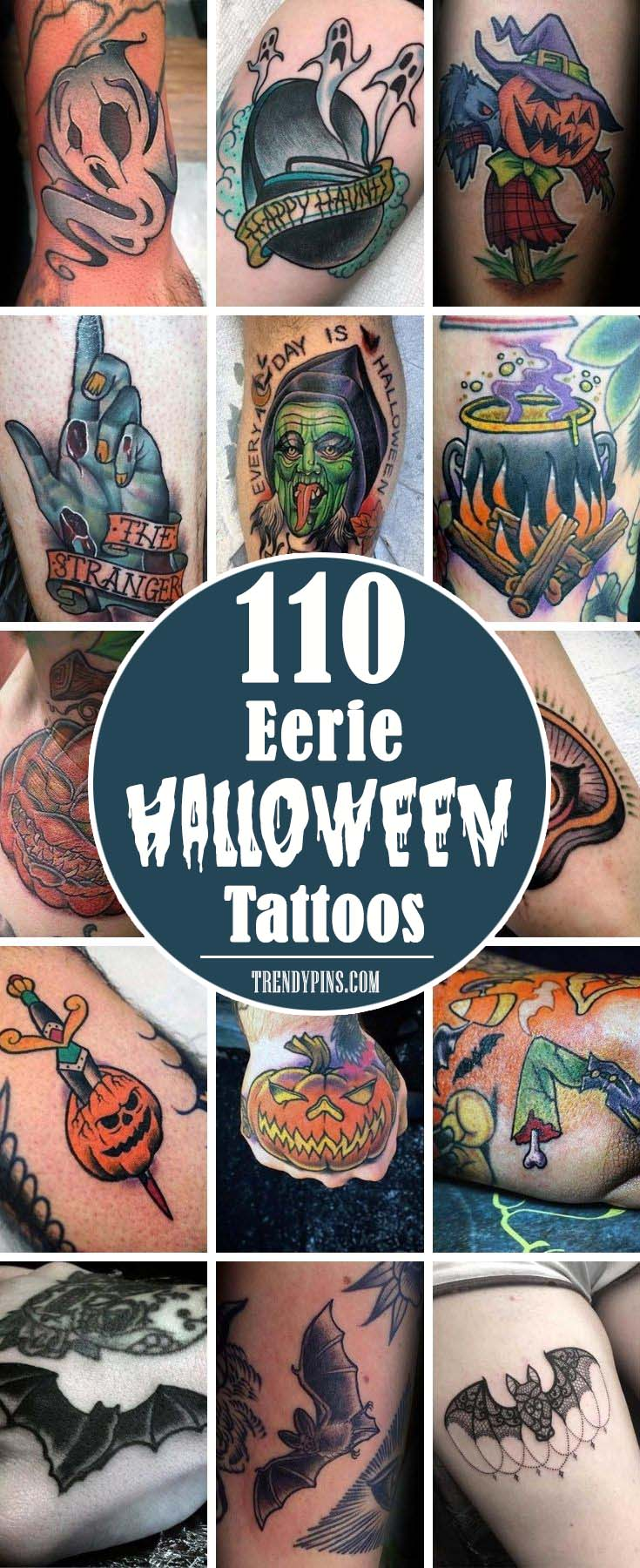 There is no better way to commemorate Halloween than by getting a Halloween-themed tattoo.