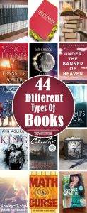 44 Different Types Of Books