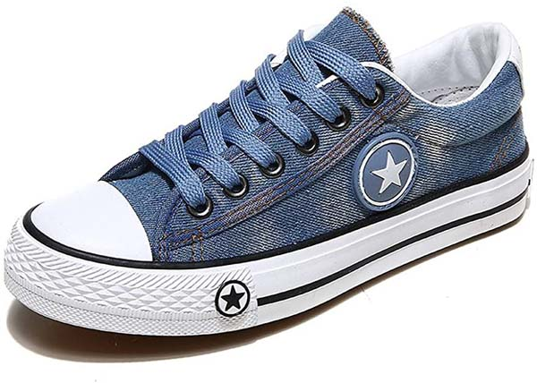 Denim Sneakers #sneakers #fashion #trendypins