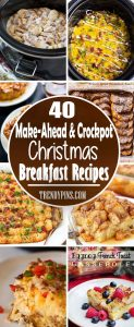 20 Make Ahead And Crockpot Christmas Breakfast Recipes