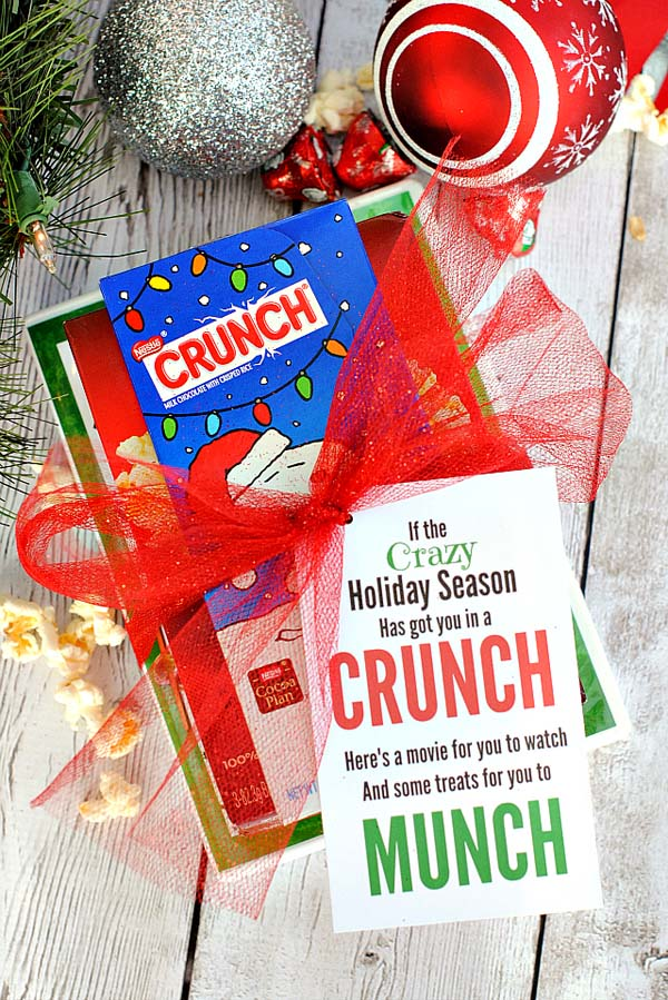 Christmas Crunch Gift #Christmas #food #gifts #trendypins