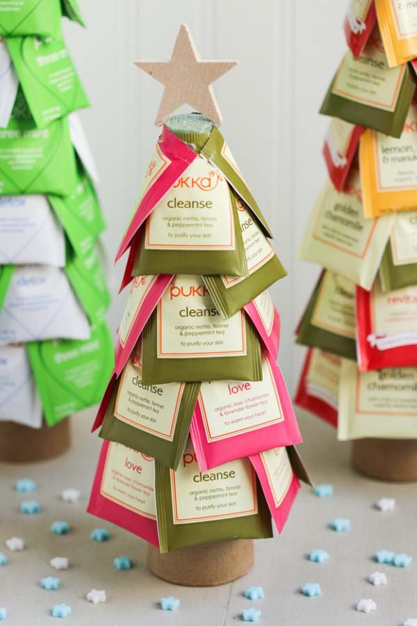 Christmas Tea Trees #Christmas #food #gifts #trendypins