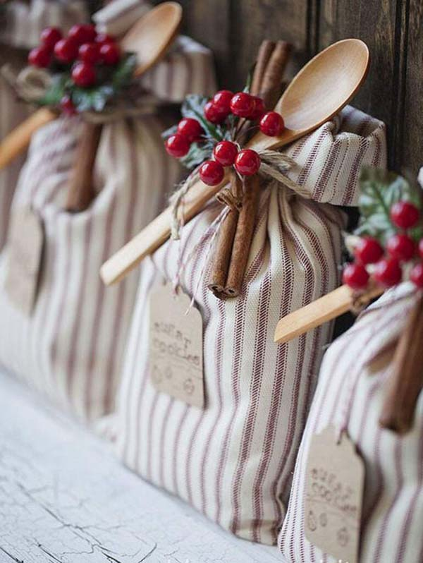 Cookie Sack #Christmas #food #gifts #trendypins