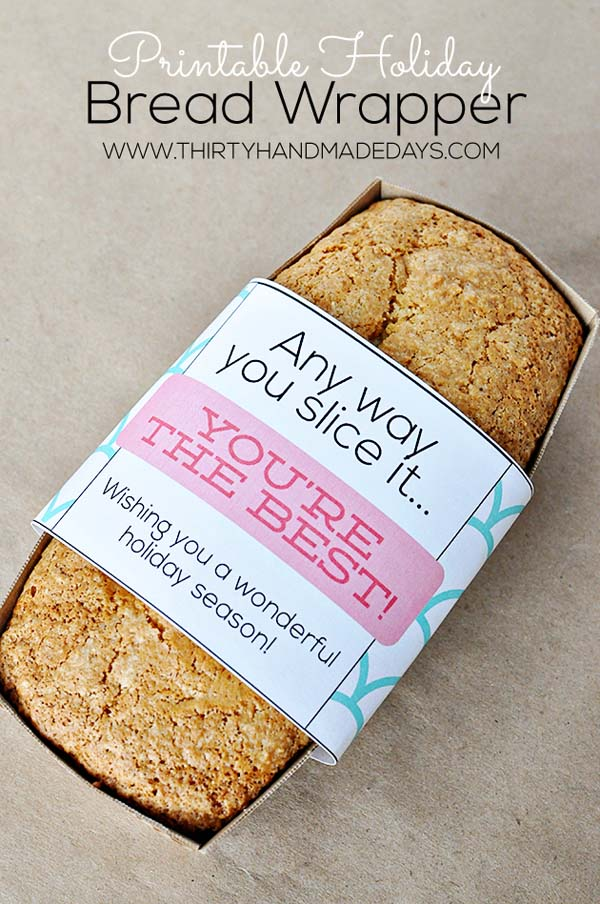 Holiday Bread #Christmas #food #gifts #trendypins