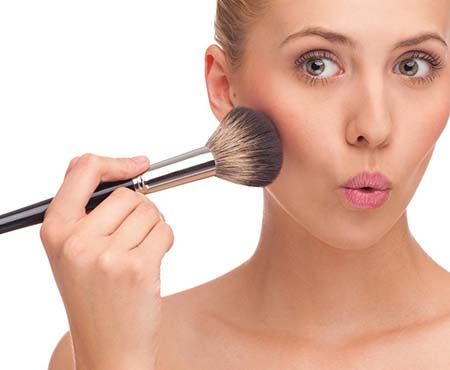 How To Use Bronzer Blush Brush #makeup #beauty #trendypins