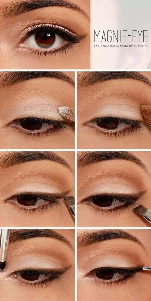 Magnify Your Eyes #makeup #beauty #trendypins