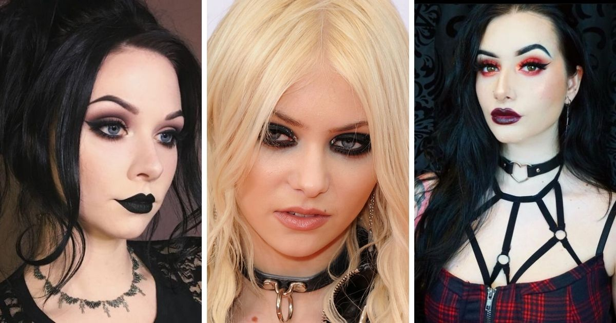 What Are The Different Types Of Goth Makeup Looks